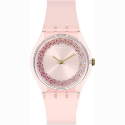 Swatch Originals Kwartzy Damenuhr in Pink GP164