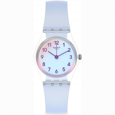 Swatch Casual Blue Dameshorloge Blauw LK396