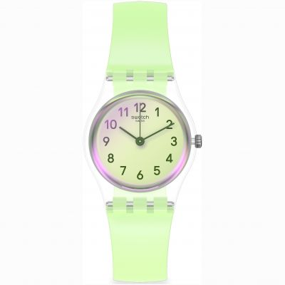 Swatch Casual Green Damklocka Grön LK397