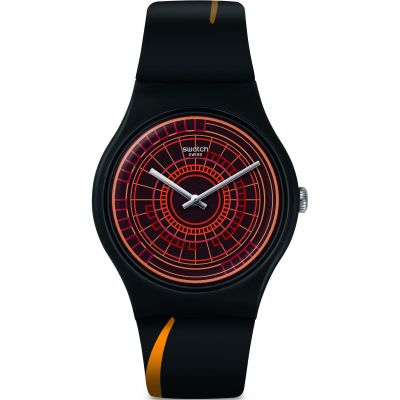 Swatch Originals The World Is Not Enough Unisexuhr in Mehrfarbig SUOZ304