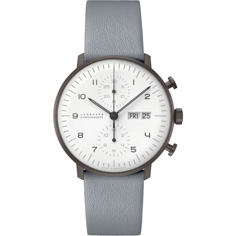 Junghans Max Bill Automatic Chronograph Watch 027/4008.05