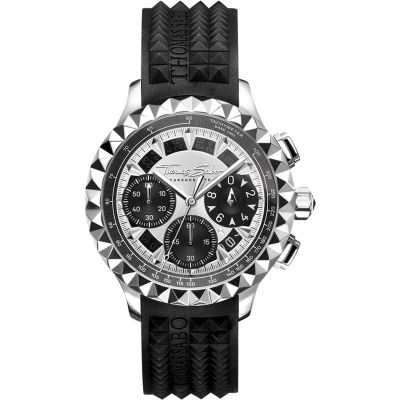 Thomas Sabo Pyramid Rebel at Heart Watch WA0357-214-201-43MM