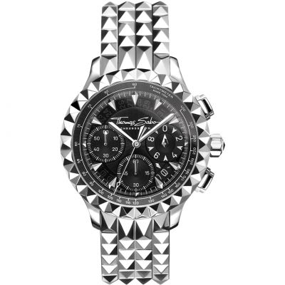 Thomas Sabo Pyramid Rebel at Heart Watch WA0358-201-203-43MM