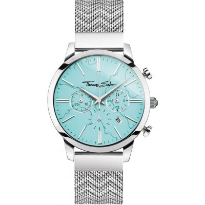 Reloj Cronógrafo para Unisex THOMAS SABO Rebel at heart WA0366-201-215-42MM