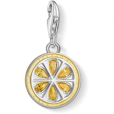 Thomas Sabo Dam Lemon Charm Sterlingsilver 1835-041-4
