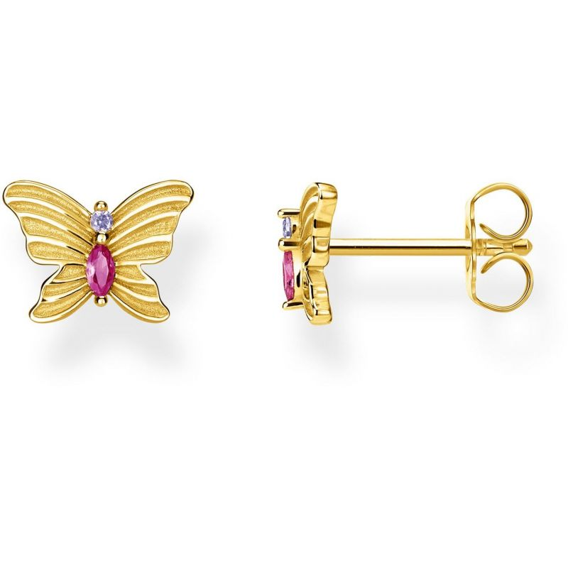 Thomas Sabo Magic Garden Butterfly Ear Studs H2100-995-7
