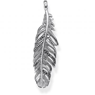 Thomas Sabo Unisex Falcon Feather Pendant Sterling Zilver PE884-643-11