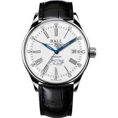 Montre Homme Ball Trainmaster Endeavour Chronometer NM3288D-LL2CJ-WH