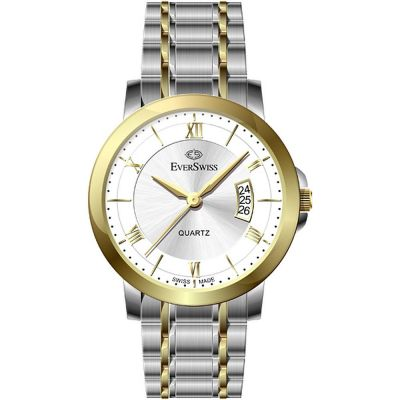 EverSwiss Dameshorloge Two-Tone Gold 4138-LTS