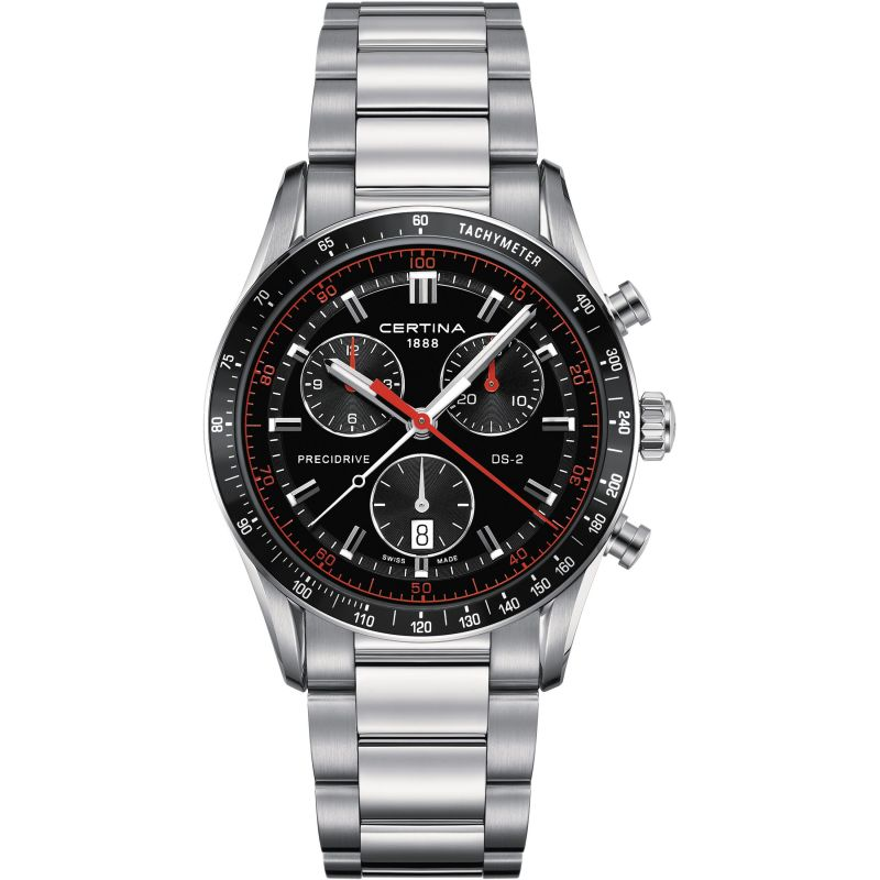 Mens Certina Chronograph Watch C0244471105103