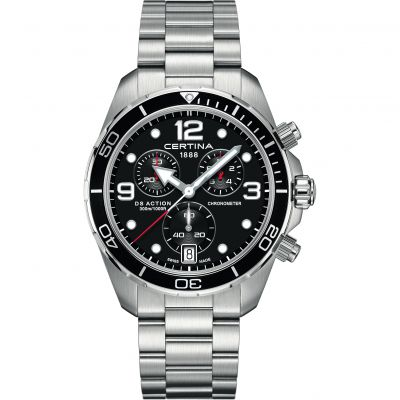 Certina DS Action Chronometer Precidrive Bracelet Watch C0324341105700