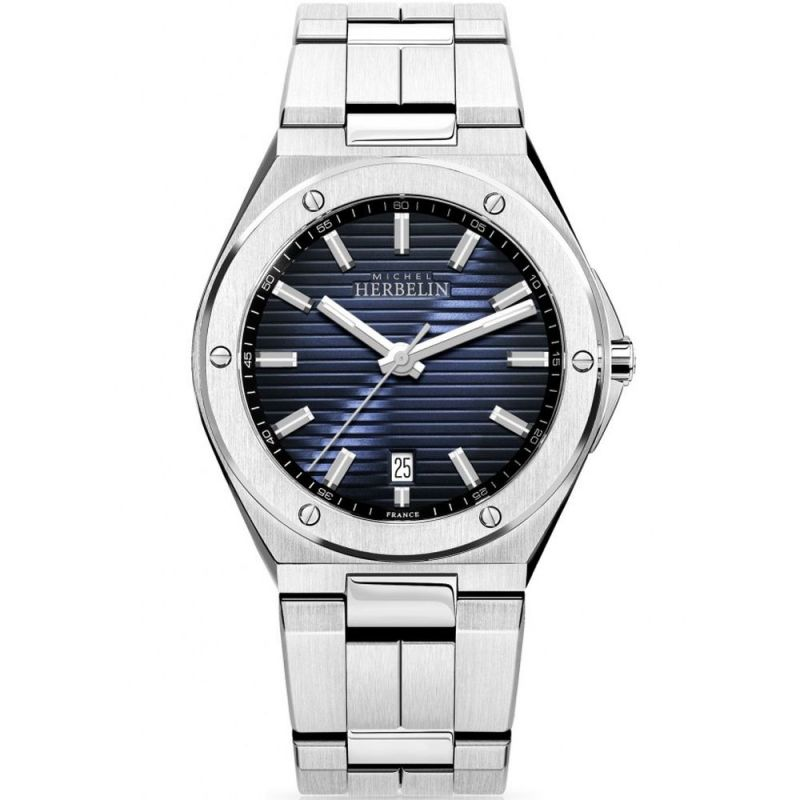 Mens Michel Herbelin CapCamarat Watch 12245/B15