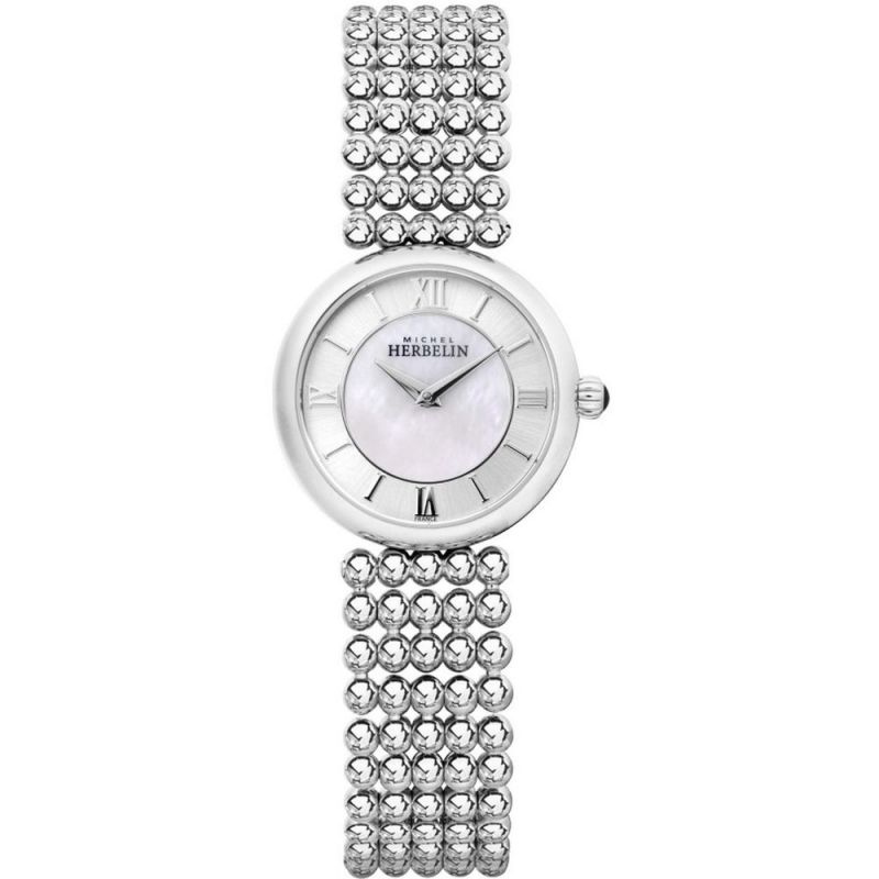 Ladies Michel Herbelin Perles Watch 17483/B19