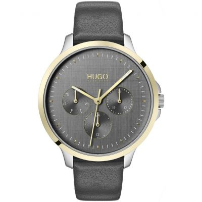 HUGO Dameshorloge Grijs 1540013