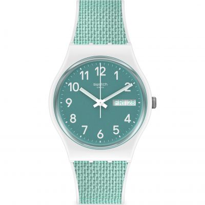 Swatch Pool Light Unisexklocka Blå GW714