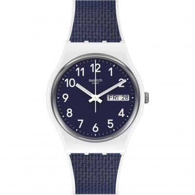 Swatch Navy Light Unisexklocka Navy GW715