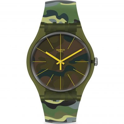Montre Homme Swatch Camouforest SUOG114