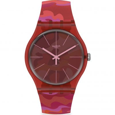Montre Unisexe Swatch Camouflash SUOR116