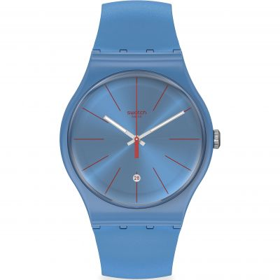 Swatch Originals Lagoonazing Unisexuhr in Turquoise SUOS401