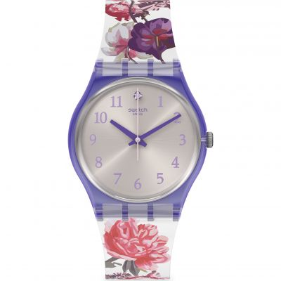 Swatch Originals Sweet Garden Damenuhr in Mehrfarbig GV135