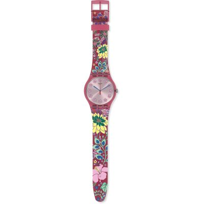 Swatch Originals Dhabiscus Damenuhr in Mehrfarbig SUOP112