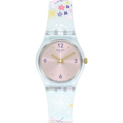 Swatch Enchanted Meadow Damklocka Flerfärgad LL124