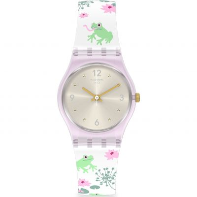 Swatch Enchanted Pond Damklocka Flerfärgad LP160