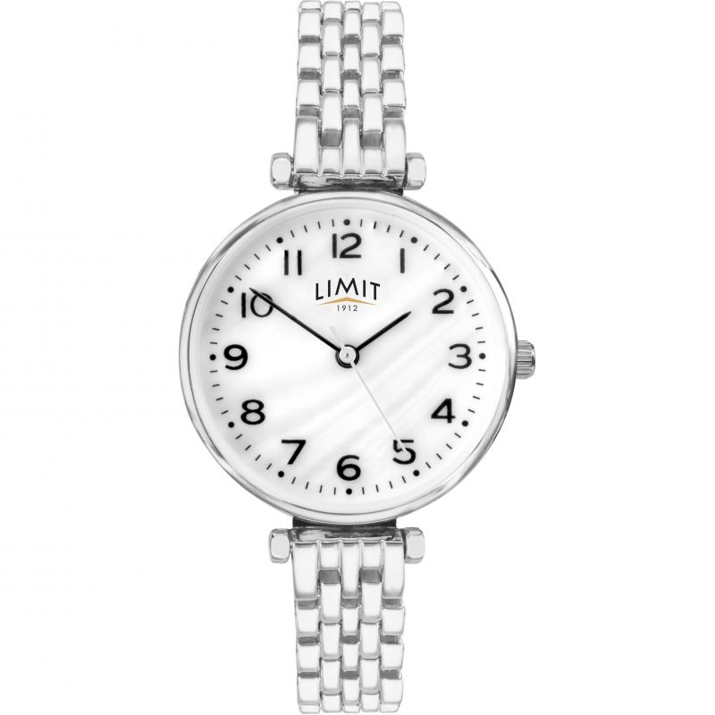 Ladies Silver Coloured Classic Bracelet Watch 6496.01