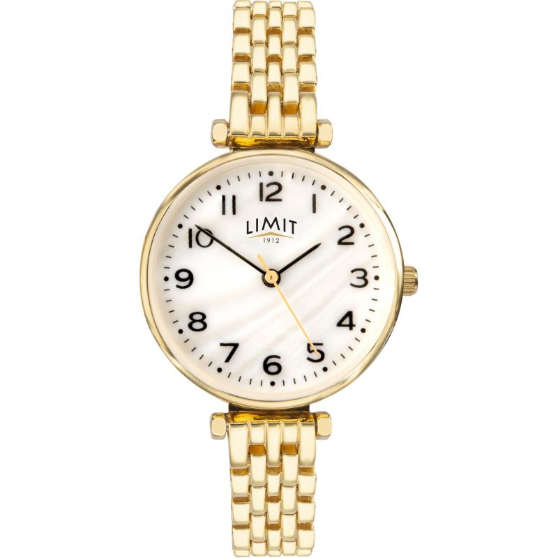 Ladies Gold Plated Classic Bracelet Watch 6497.01