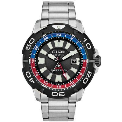 Citizen Promaster Dive Gmt Herenhorloge Zwart BJ7128-59E