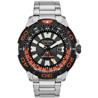 Citizen Promaster Dive Gmt Herenhorloge Zwart BJ7129-56E