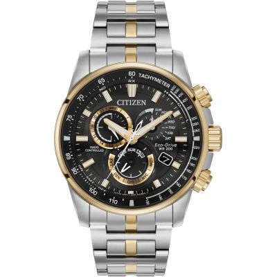 Citizen Perpetual Chrono A.T. Herenchronograaf Tweetonig AT4126-55E