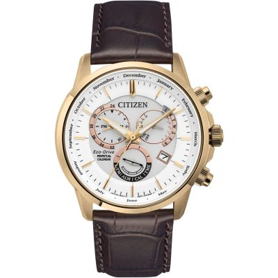 Mens Citizen Calibre 8700 Perpetual Calendar Watch BL8153-11A