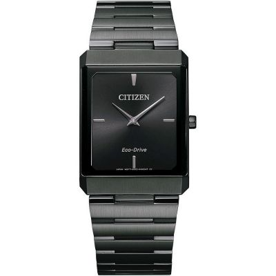 Citizen Stiletto Tank Herrklocka Svart AR3107-57E