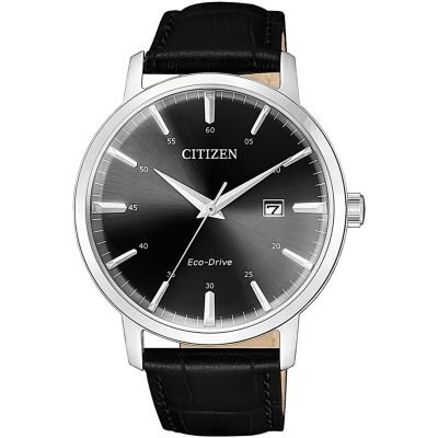 Citizen Classic Three Hand Herrklocka Svart BM7460-11E