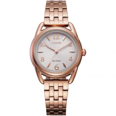 Citizen Ltr Mini Silhouette Damenuhr in Rosa FE1213-50A