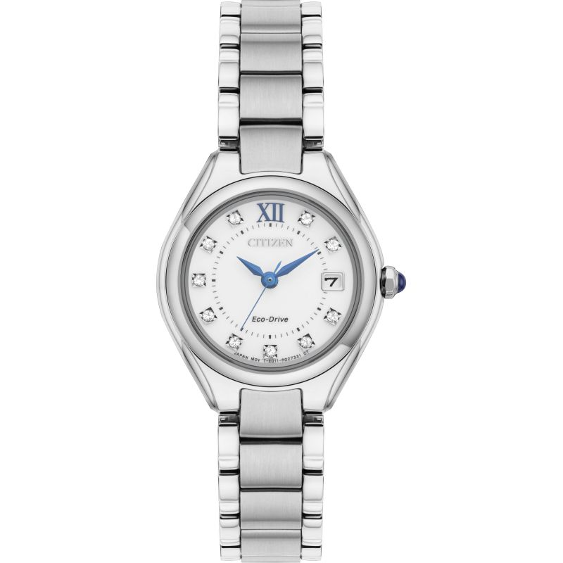 Ladies Citizen Silhouette Crystal Watch EW2540-83A