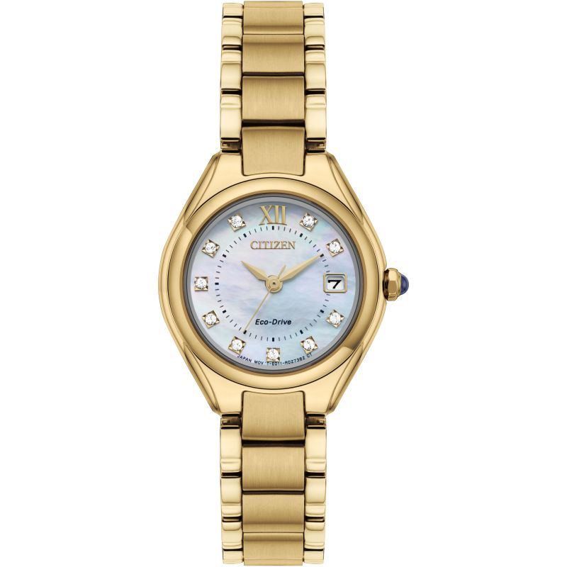 Ladies Citizen Silhouette Crystal Watch EW2543-85D