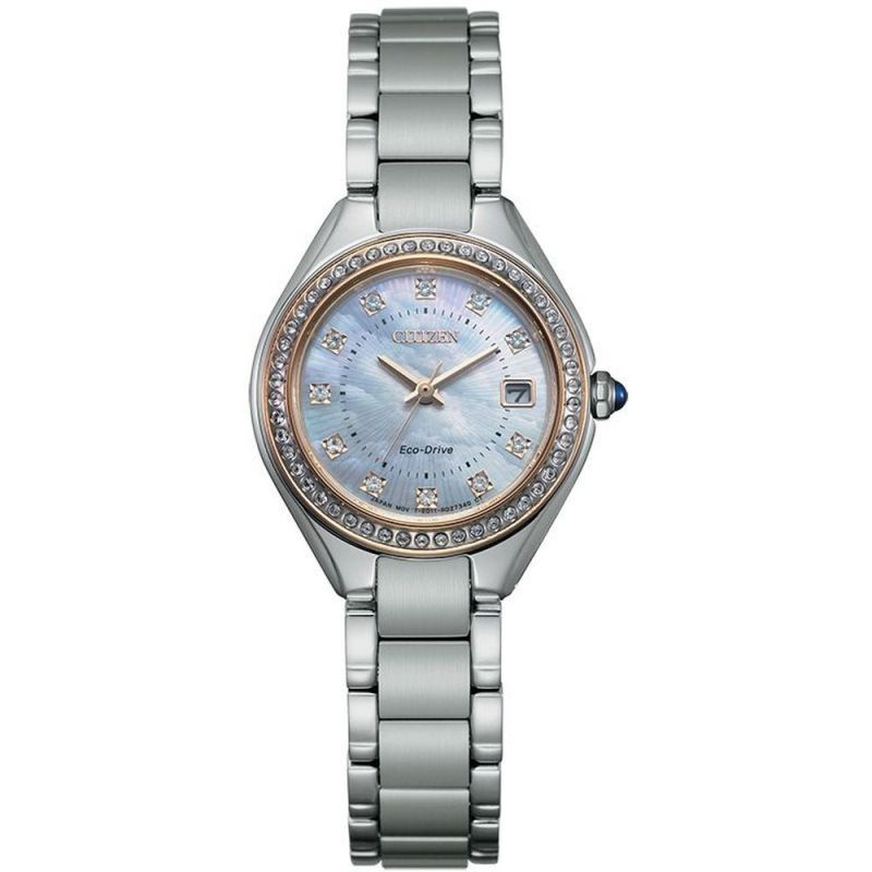 Ladies Citizen Silhouette Crystal Watch EW2556-59Y