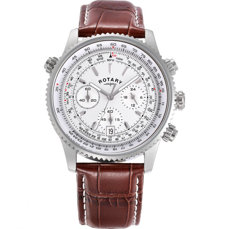 Rotary Exclusive Hero Chronograph Sports Watch GS00740/06