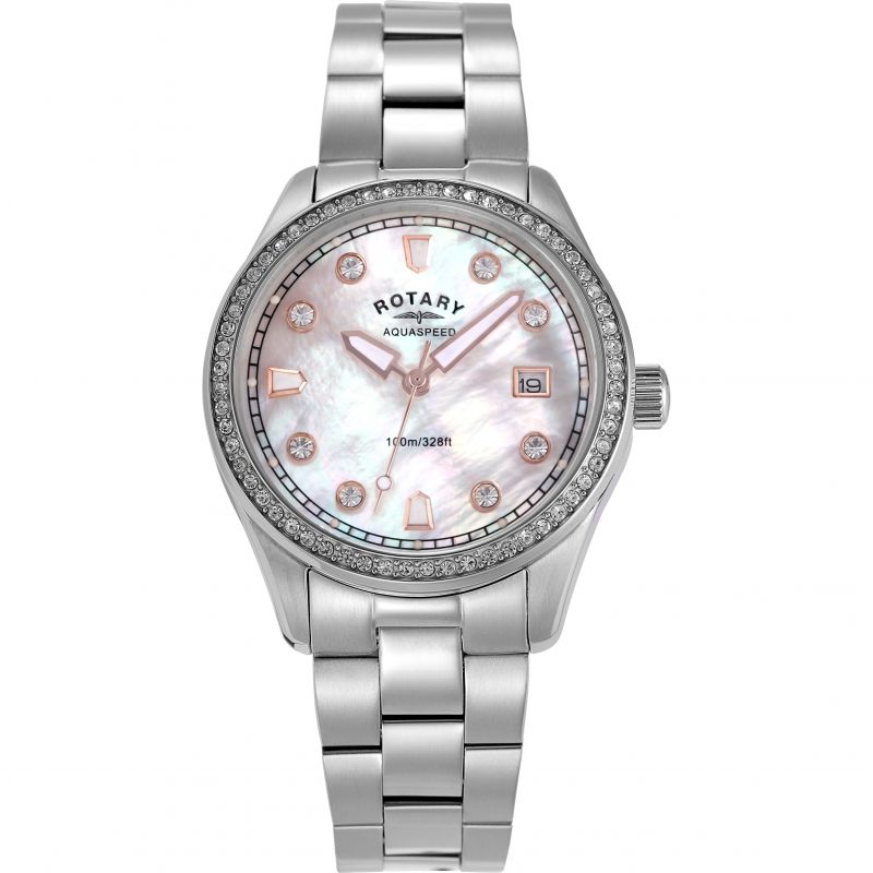 Ladies Rotary Exclusive Aquaspeed Watch ALB19000/W/41