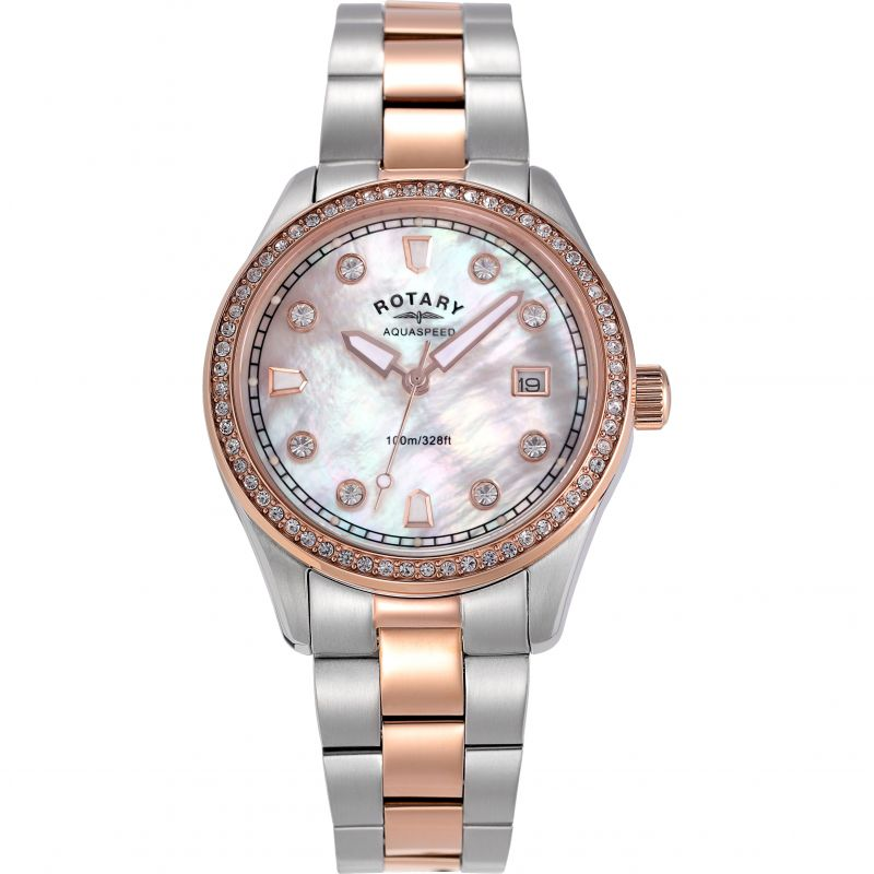 Ladies Rotary Exclusive Aquaspeed Watch ALB19002/W/41