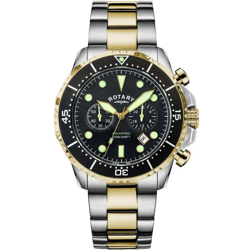 Mens Rotary Exclusive Aquaspeed Watch AGB19008/C/04