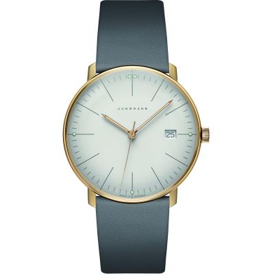 Junghans max bill Quarz Unisexuhr in Grau 041/7857.04