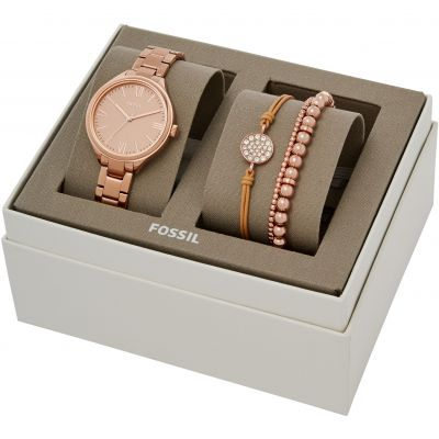 Fossil Suitor Damklocka Rose Gold BQ3349SET