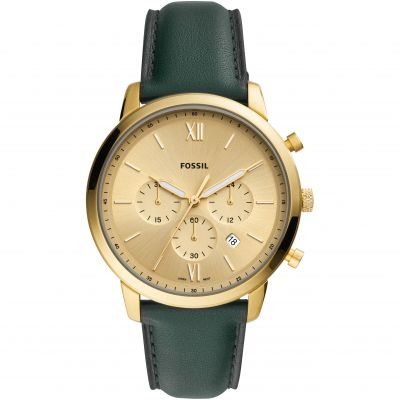 Fossil Neutra Chrono Herenchronograaf Groen FS5580