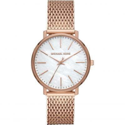 Michael Kors Damklocka Rose Gold MK4392