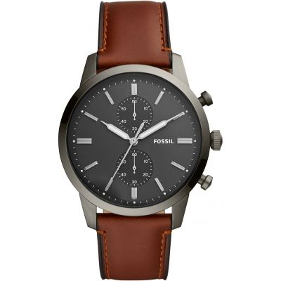 Fossil Townsman Herenchronograaf Bruin FS5522