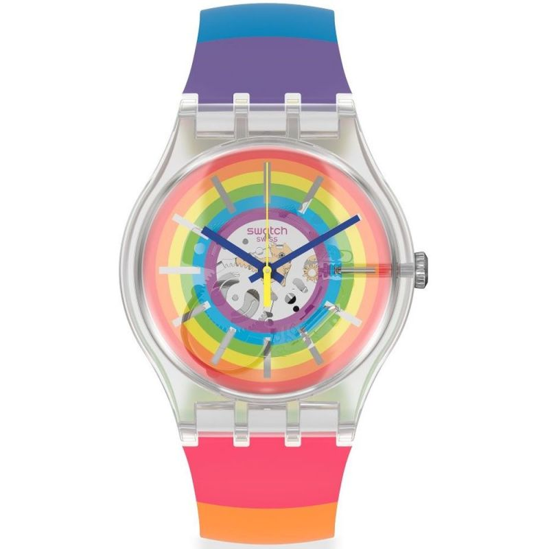 Unisex Swatch #Magicsummer Watch SUOK148