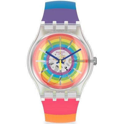 Swatch Magic Summer #Magicsummer Unisexuhr in Mehrfarbig SUOK148